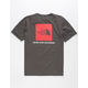 THE NORTH FACE Red Box Graphite Mens T-Shirt