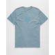 RVCA VA Wash Slate Mens T-Shirt