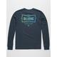 BILLABONG Craftsman Navy Mens T-Shirt