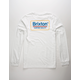 BRIXTON Palmer White Mens T-Shirt