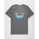HURLEY Dri-FIT Killing It Charcoal Mens T-Shirt