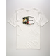HURLEY Plaque White Mens T-Shirt