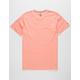 VOLCOM Pale Wash Salmon Mens T-Shirt