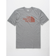 THE NORTH FACE Half Dome Logo Fill Heather Mens T-Shirt