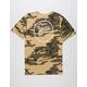 BRIXTON Wheeler II Camo Mens T-Shirt