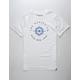 HURLEY Surf M6 White Mens T-Shirt