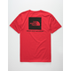 THE NORTH FACE Red Box Red Mens T-Shirt