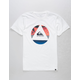 QUIKSILVER Fluid Turns White Boys T-Shirt