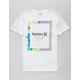 HURLEY Dri-FIT Bloom White Boys T-Shirt