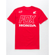 FOX Honda Red Mens T-Shirt