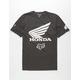 FOX Honda Dark Grey Mens T-Shirt