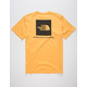 THE NORTH FACE Red Box Yellow Mens T-Shirt