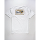 BRIXTON Messenger White Mens T-Shirt