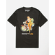 LRG Hula Girl Black Mens T-Shirt