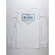 BILLABONG Craftsman White Mens T-Shirt