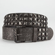 Distressed Pyramid Stud Belt