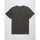 RVCA VA Wash Black Mens T-Shirt
