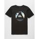 QUIKSILVER Fluid Turns Black Boys T-Shirt