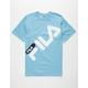 FILA Micah Light Blue Mens T-Shirt
