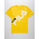 FILA Micah Yellow Mens T-Shirt