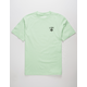 LRG Logo Plus Mint Mens T-Shirt
