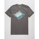 RIP CURL Groundswell Premium Charcoal Mens T-Shirt