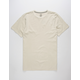 VOLCOM Pale Wash Clay Mens T-Shirt