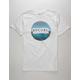 RIP CURL Freemason White Mens T-Shirt