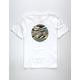 RVCA Motors Fill White Boys T-Shirt