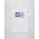 RVCA Balance Fill White Boys T-Shirt