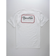BRIXTON Grade White Mens T-Shirt