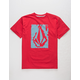 VOLCOM Pixel Stone Black Boys T-Shirt