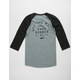 VANS Stacked Rubber Mens Baseball Tee
