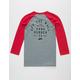 VANS Stacked Rubber Boys Raglan T-Shirt