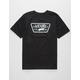 VANS Full Patch Black & Neo Jungle Boys T-Shirt