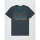 HIPPYTREE Gradient Mens T-Shirt