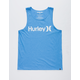 HURLEY One And Only Heather Blue Mens Tank Top