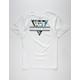 VANS Retro Tri Pit Stop Floral Mens T-Shirt