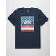 VANS Blues Print Box Mens T-shirt