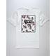 VANS Rose Print Box Mens T-Shirt