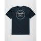 BRIXTON Wheeler II Navy Mens T-Shirt