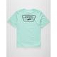VANS Full Patch Back Mint Boys T-Shirt