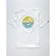 VANS Dual Palm Gradient Boys T-Shirt