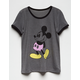 DISNEY Mickey Mouse Girls Ringer Tee