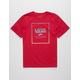 VANS Print Box Red Boys T-Shirt