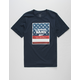 VANS Print Box American Flag Boys T-Shirt