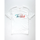 RVCA Skratch White Boys T-Shirt