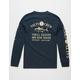 SALTY CREW Markets Navy Mens T-Shirt