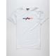 RUSTY Barred Mens T-Shirt