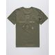 SALTY CREW Chart Dark Green Mens T-Shirt